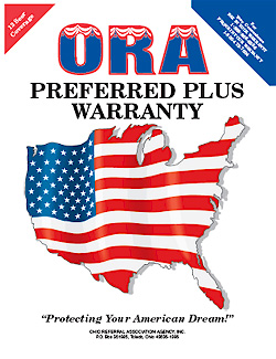 Home Warranty Plans - Review The ORA Preferred Plus Home Warranty Sample Contract. For Home Warranty Plans Call ORA Home Warranty Today 1-800-472-7004.